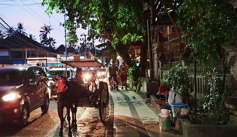 발리 자유여행 – 발리 거리의 마차 도까르(Dokar)