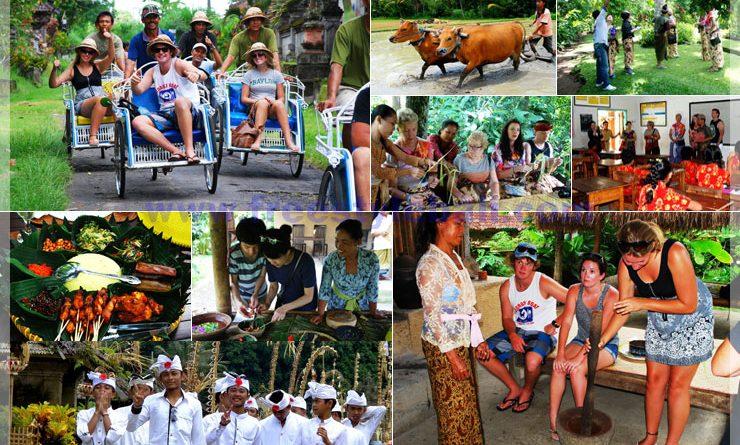 발리전통마을체험 투어(USD150/2인 기준)